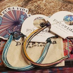 2 Pura Vida Bracelets Originals